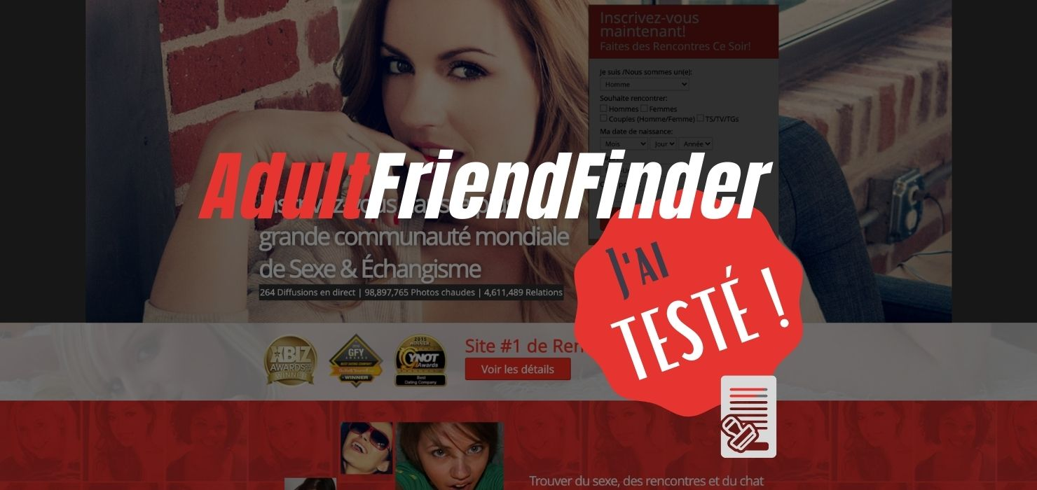adultfriendfinder le site coquin