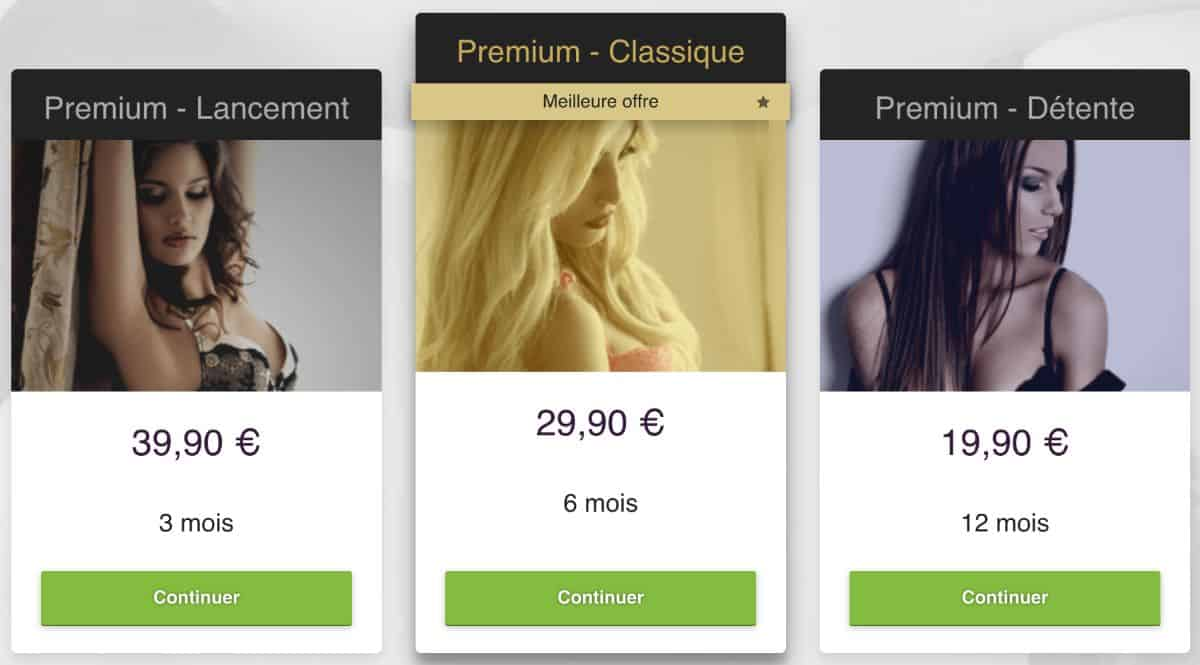 tarif abonnement sur C dating