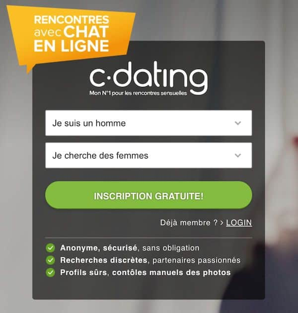 inscription sur c dating